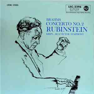 Brahms, Rubinstein, Krips ... RCA Victor Symphony - Concerto No. 2