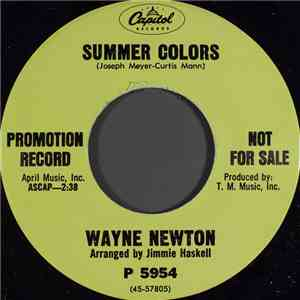 Wayne Newton - Summer Colors