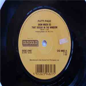 Patty Page - (How Much Is) That Doggie In The Window / Tennessee Waltz