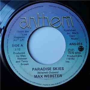 Max Webster - Paradise Skies / In Context Of The Moon