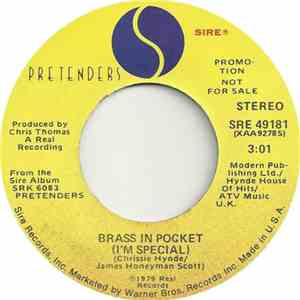 Pretenders - Brass In Pocket (I'm Special)