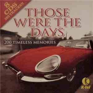 Various - Those Were The Days