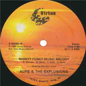 Alfie & The Explosions - Mighty Funky Music Melody