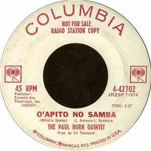 The Paul Horn Quintet - O'Apito No Samba / Whistle While You Work