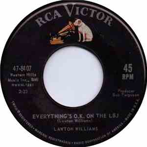 Lawton Williams - Everything's O.K. On The LBJ / Don't Look Down