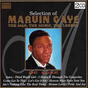 Marvin Gaye - Selection Of Marvin Gaye, The Man, The Music, The Legend